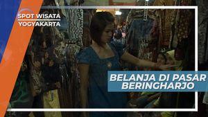 Belanja di Pasar Beringharjo Yogyakarta