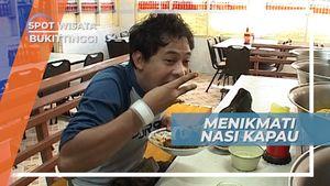 Nasi Kapau Pasar Ateh Bukittinggi, Berkuliner Nikmat Melalui 40 Anak Tangga