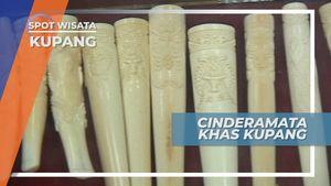 Belanja Cinderamata Berbahan Gading Khas Kupang, Nusa Tenggara Timur