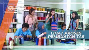 Tas Rajut, Pembuatan Cinderamata Cantik Indah Khas Yogyakarta