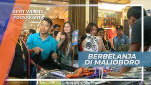 Ramainya Berbelanja di Malioboro Yogyakarta