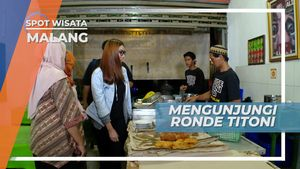 Wedang Ronde Kota Malang, Racikan Kehangatan Minuman Tradisional