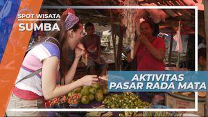 Rada Mata, Salah Satu Pasar Tradisional Tertua di Sumba