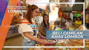 Beli Cemilan Khas Lombok, di Pasar Cakranegara Jalan Selaparang