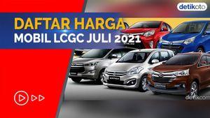 Mulai Rp 100 Jutaan, Ini Daftar Harga Mobil LCGC Per Juli 2021