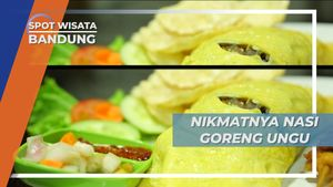 Nasi Goreng Ungu, Warna Unik Rasa Lezat, Bandung