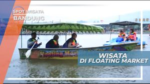 Floating Market, Pasar Terapung di Dataran Tinggi Lembang
