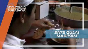 Sate Gulai Mariyam, Cocolan Roti dan Kambingnya Menjaga Stamina di Surabaya