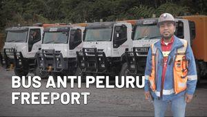 Melihat Canggihnya Bus Anti Peluru Freeport, Antisipasi Serangan KKB