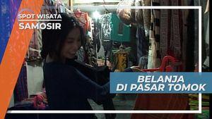 Wisata Belanja di Pasar Tomok, Samosir