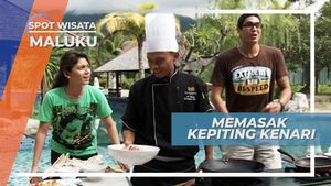 Memasak Kepiting Kenari, Dengan Olahan Bumbu Khas Maluku