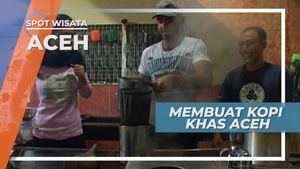 Meracik Kopi Solong, Minuman Khas Ulee Kareng Banda Aceh