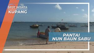 Berperahu di Pantai Nun Baun Sabu Kupang, Menikmati Panorama Birunya Laut