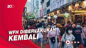 Kasus Covid-19 Melonjak, Singapura Perketat Peraturan