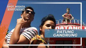 Gandrung, Patung Ikonik di Pantai Watudodol Banyuwangi Jawa Timur
