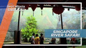 Mengunjungi Kebun Bintang Bertema Sungai, Singapura