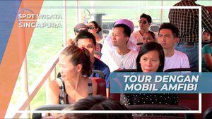 Serunya Naik Mobil Bebek Keliling Singapura