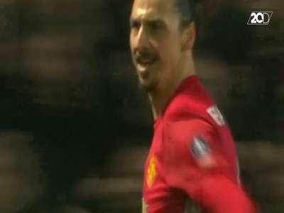 Gol Perdana Ibrahimovic di Piala FA