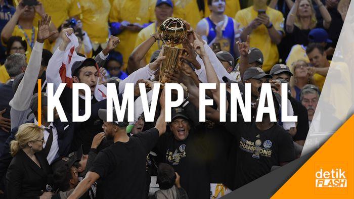 Golden State Warriors Juara Final NBA 2017