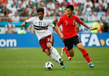 Highlights: Korea Selatan Vs Meksiko 1-2