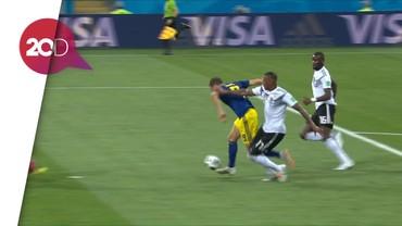 Kekecewaan Swedia Tak Mendapat Penalti