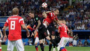 Highlights Babak Tambahan Rusia Vs Kroasia