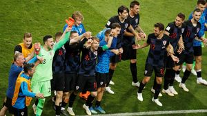 Highlights Adu Penalti: Rusia Vs Kroasia 3-4