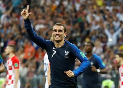 Perisic Handball, Griezmann Buat Prancis Unggul 2-1
