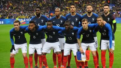 Prancis Menuju Final Piala Dunia 2018