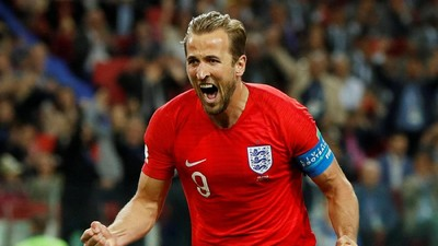 Enam Gol Harry Kane, Top Skor Piala Dunia 2018