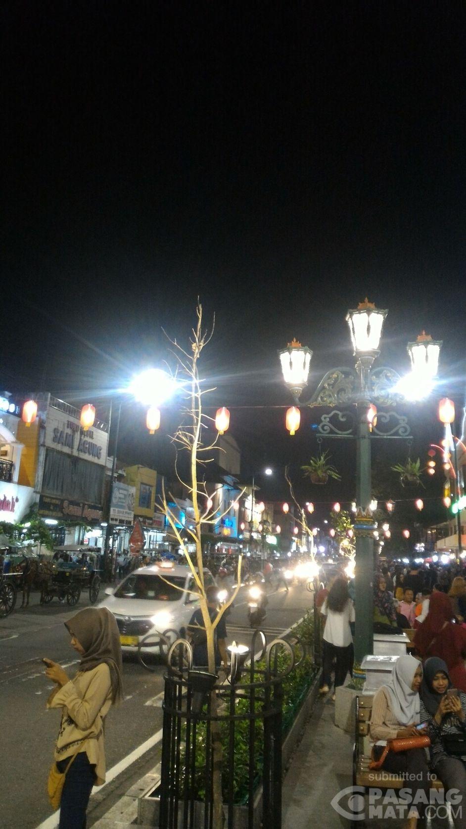 Suasana Malam Hari di Malioboro • #Wisata  PasangMata