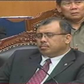 Patrialis Protes Menteri Diberitakan Tidur
