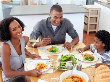 makan dengan teratur tubuh terasa ringan dan segar