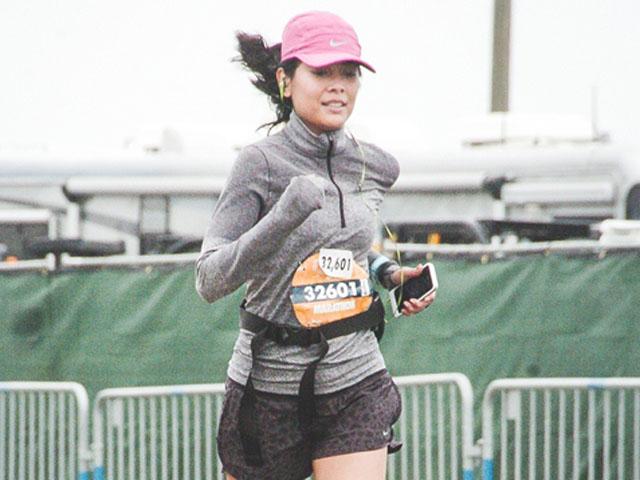 Aksi Sigi Wimala Maraton di San Francisco