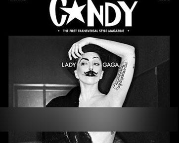 Jadi <i>Cover</i> Majalah, Lady Gaga Hias Payudara dengan Kalajengking