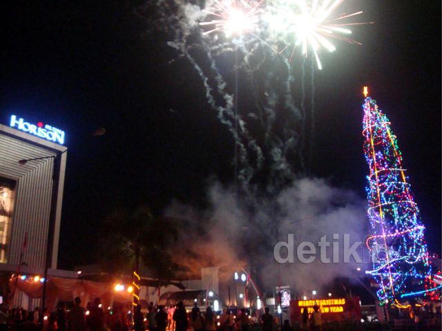 Pohon Natal di Purwokerto Raih MURI