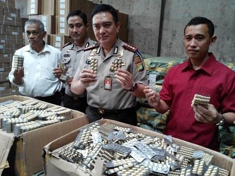 Polisi Amankan 1,1 Juta Pil Obat Ponstan Palsu Senilai Rp 4 M di Penjaringan