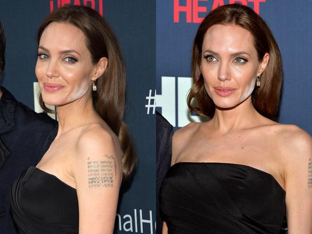 Duh, Wajah Angelina Jolie <i>Belepotan</i> Bedak