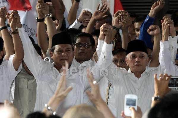 Susunan Lengkap Tim Pemenangan Prabowo-Hatta