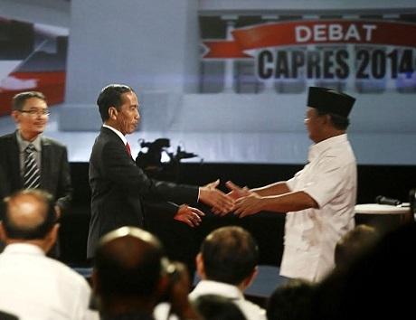 Ini Peta Kekuatan Jokowi vs Prabowo Jelang Pilpres