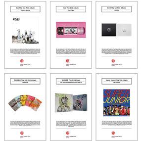 SM Entertainment Menang 8 Penghargaan untuk Desain Sampul Album