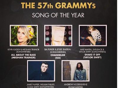 Pertarungan Lagu-lagu Terpopuler Dunia di Song of the Year