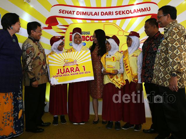 SDN 3 Sedayu Yogyakarta Raih Juara Pertama Dokter Kecil
