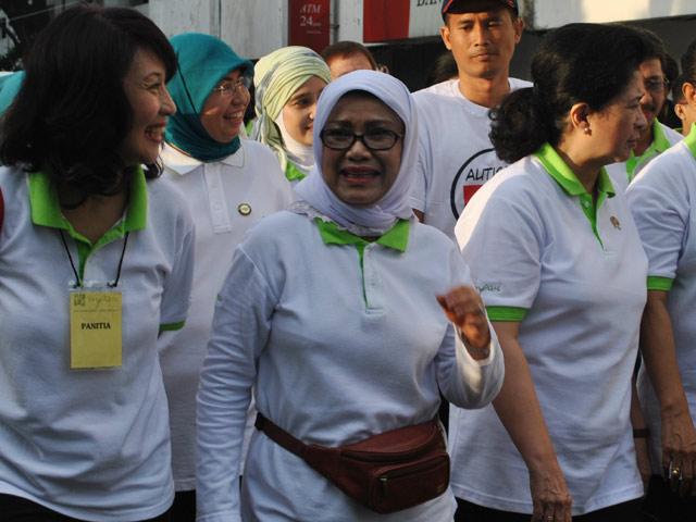 Mufidah Jusuf Kalla Hadiri Hari Autisme Sedunia