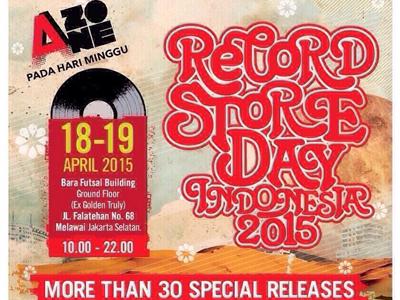 Record Store Day Indonesia 2015 Digelar di 8 Kota