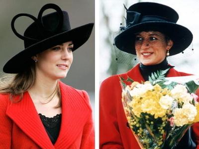 Kate Middleton Tak Seperti Putri Diana