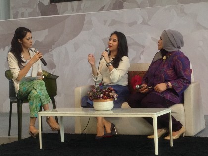 Serunya <i>Talkshow</i> Internet Sehat Bagi Anak Bersama Novita Angie