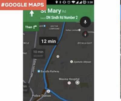 Google Maps Tampil <i>Offline</i>, Google Now Punya Jalan Tikus