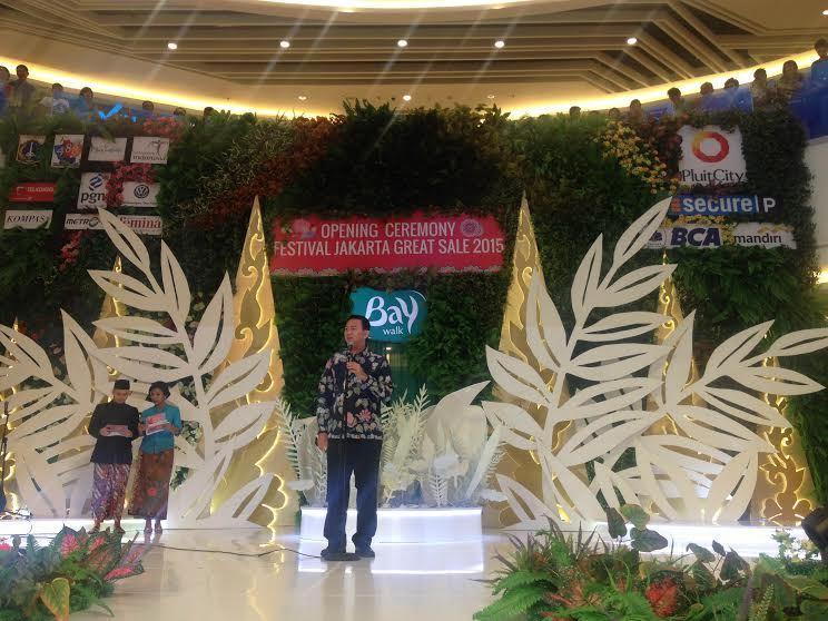 Buka Jakarta Great Sale, Ahok: Orang Mau Dagang Tak Perlu Dipersulit