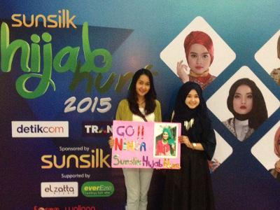 Para Pendukung 8 Finalis Sunsilk Hijab Hunt 2015 Mulai Padati Mahaka Square